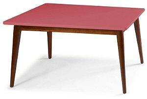 Mesa de Jantar Novita na Cor Rosa New em vários tamanhos confira: