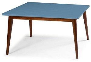 Mesa de Jantar Novita na Cor Azul Serenata em vários tamanhos confira:
