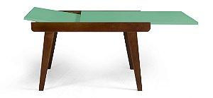 Mesa de Jantar Extensível Maxi na Cor Verde