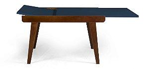 Mesa de Jantar Extensível Maxi na Cor Azul Marinho
