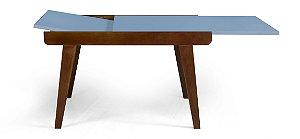 Mesa de Jantar Extensível Maxi na Cor Azul Serenata