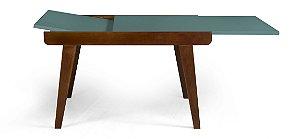 Mesa de Jantar Extensível Maxi na Cor Azul Claro