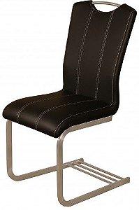 Cadeira de Jantar Amati na Cor preta