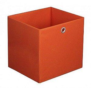 Caixa Organizadora Tamanho Médio na Cor laranja