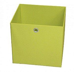 Caixa Organizadora Tamanho Médio na Cor Verde