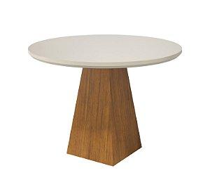 Mesa de Jantar Redonda com Vidro - Floripa