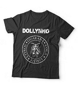Camiseta Dollynho Baphomet - Ramones preta