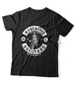 Mongolões Mc - moto clube do Dollynho - camiseta preta