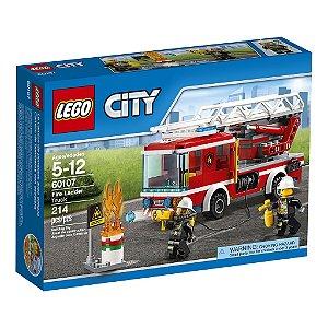 60107 Caminhão com Escada de Combate ao Fogo - LEGO® City