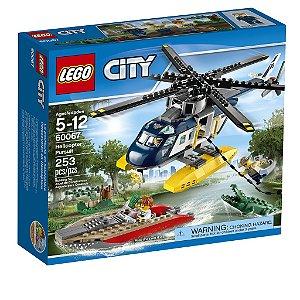 60067 Perseguição Helicoptero - LEGO® City  Police