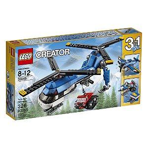 31049 - Helicóptero de Duas Hélices - LEGO® Creator - 3 em 1
