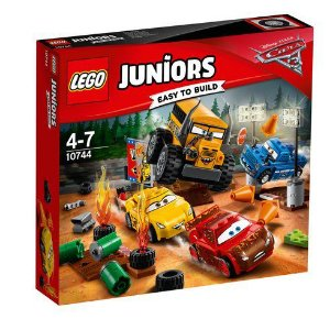 10744 LEGO® Juniors - Disney - Pixar - Carros 3 - Smokey Garage