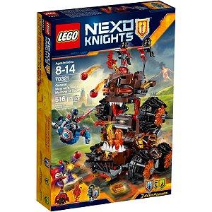 Lego 70321 O Cerco Da Máquina Da Perdição Do General Magmar!