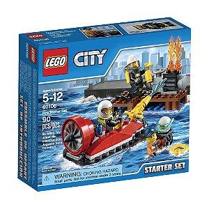 60106 Conjunto Iniciação para Combate ao Fogo - LEGO® City Fire