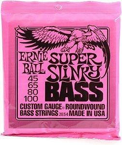 Encordoamento de Contrabaixo 4 Cordas 2834 Ernie Ball