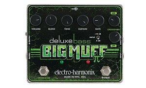 Pedal De Efeito Deluxe Bass Big Muff Pi Electro Harmonix