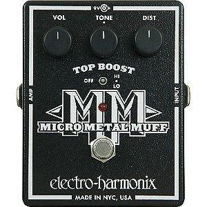 Pedal De Efeito Micro Metal Muff Electro Harmonix