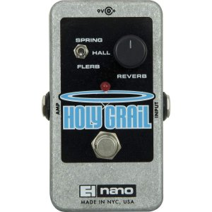 Pedal De Efeito Reverb Nano Holy Grail Electro-harmonix
