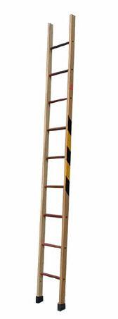 Escada Simples de Madeira