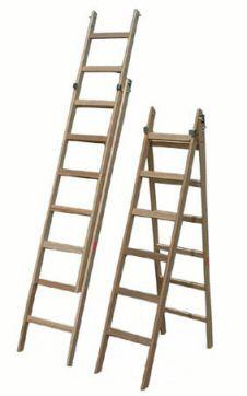 Escada de Madeira Multiuso