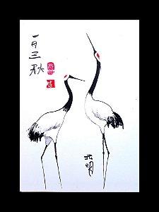 Estudos em arte Zen e Sumi-ê - Monge Kōmyō - The Couple