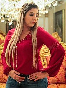 Blusa Corrente M\L Pink