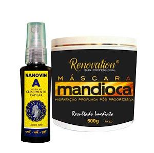Nanovin A + Máscara de Mandioca