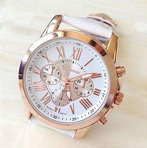 Relógio Romano Platinum