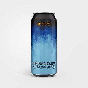 Cerveja MinduCloudy New England Double IPA Lata 473ml