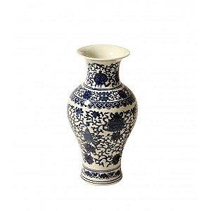 Vaso Chinês Floral - 36cm