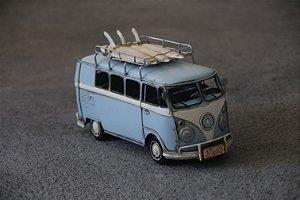 Miniatura Kombi Surf Blue - 32cm
