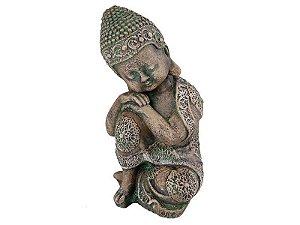 Buda Bebê reflexão - Pedra Tailândia  28cm