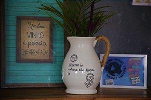 Vaso Jarro cerâmica vintage - 39cm