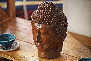 Adorno Rosto de Buda -  23cm