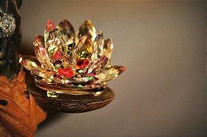 Flor de Lótus Cristal Zen color - 08cm