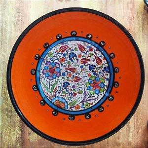 Tigela  Cerâmica Turquia - 25cm