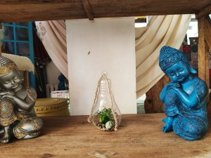 Buda Bebe pensativo - 28cm