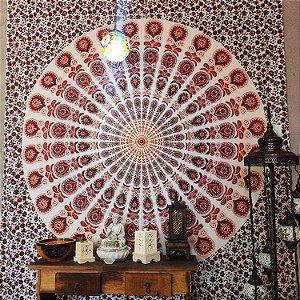 Manta painel mandala  indiana  -  2.40M x 2.10M