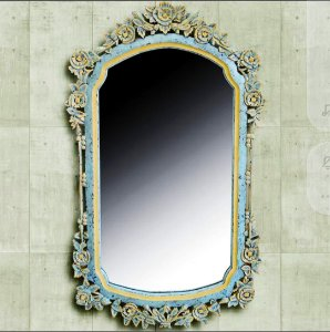 Espelho Nobre Java - Madeira Teca Indonésia 100cm
