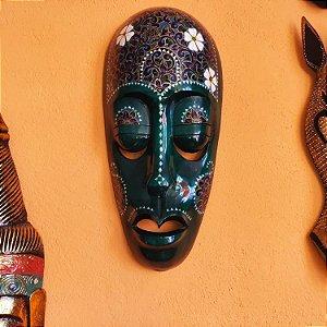 Mascara madeira 3D Lombok - Indonésia 50cm