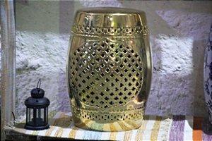 Garden Seat Charme Gold - Porcelana