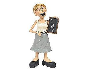 Escultura Resina - A Professora - 23cm