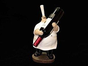 Cozinheiro Porta Vinho - Alt. 38cm