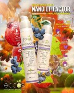 NANO UP FACTOR 55 mL - Eccos Cosméticos