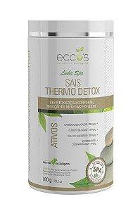 Linha Spa Sais Thermo Detox|800g - Eccos Cosméticos