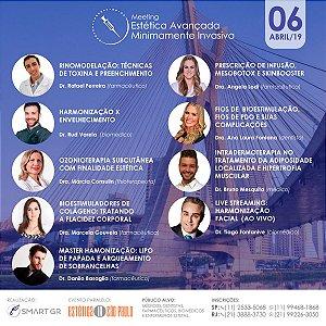 INSCRIÇÃO MEETING ESTÉTICA AVANÇADA MINIMAMENTE INVASIVA 06.04.2019 SP