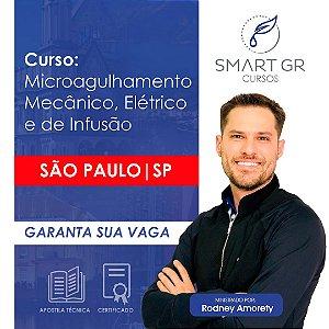Curso Microagulhamento (mecanico, elétrico e de infusão) - São Paulo 20 de Maio 2019