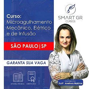 Curso Microagulhamento (mecânico, elétrico e de infusão) -  São Paulo 24 Junho