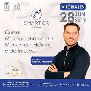 Curso Microagulhamento (mecânico, elétrico e de infusão) - Vitória | ES -  28 de Junho 2019