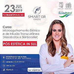 Curso Microagulhamento Elétrico e de Infusão Transcutânea (Mesobotox e Skinbooster) – Florianópolis  SC - 23 de Julho 2019
